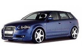 Каркасные шторки на Audi A3 Хетчбэк 5 дв. 2003 - 2012
