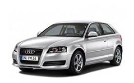 Каркасные шторки на Audi A3 Хетчбэк 3 дв. 2003 - 2012