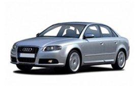 Каркасные шторки на Audi A4 Седан 2000 - 2007