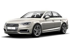 Каркасные шторки на Audi A4 Седан 2015 - н.в.