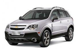 Каркасные шторки на Chevrolet Captiva Внедорожник-Кроссовер BR-spec 2006 - 2011