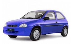 Каркасные шторки на Chevrolet Corsa Хетчбэк 3 дв. 1994 - 2002