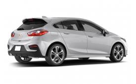 Каркасные шторки на Chevrolet Cruze Хетчбэк 5 дв. 2015 - н.в.
