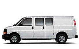 Каркасные шторки на Chevrolet Express Минивэн Cargo Van 2002 - н.в.