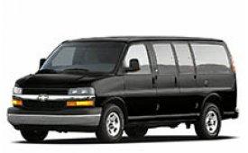 Каркасные шторки на Chevrolet Express Минивэн 2002 - н.в.