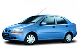 Каркасные шторки на Chevrolet Kalos Седан 2002 - 2008