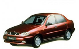 Каркасные шторки на Chevrolet Lanos Седан 2005 - 2009