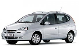Каркасные шторки на Chevrolet Rezzo(Tacuma) Минивэн 2004 - 2008
