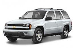Каркасные шторки на Chevrolet TrailBlazer Внедорожник-Кроссовер 2001 - 2008