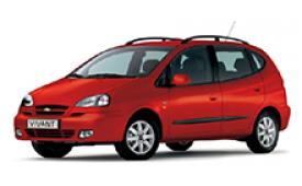 Каркасные шторки на Chevrolet Vivant Минивэн 2004 - 2008