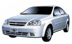 Каркасные шторки на Daewoo Lacetti Седан 2004 - 2009