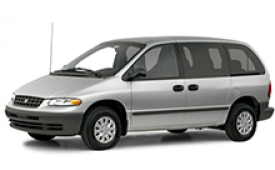 Каркасные шторки на Dodge Caravan Минивэн 1995 - 2000