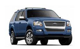 Каркасные шторки на Ford Explorer Внедорожник-Кроссовер U251 2005 - 2010