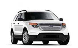 Каркасные шторки на Ford Explorer Внедорожник-Кроссовер 2010 - 2015