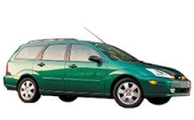 Каркасные шторки на Ford Focus Универсал 1998 - 2007