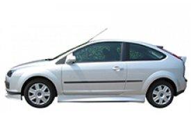 Каркасные шторки на Ford Focus Хетчбэк 3 дв. 2004 - 2011
