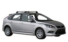 Каркасные шторки на Ford Focus Хетчбэк 5 дв. 2008 - 2011
