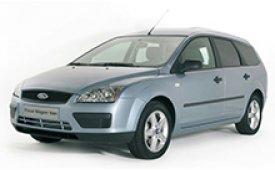 Каркасные шторки на Ford Focus Универсал 2004 - 2011