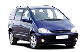 Каркасные шторки на Ford Galaxy Минивэн 1995 - 2006