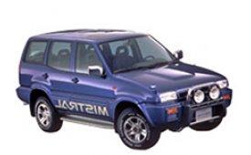 Каркасные шторки на Ford Maverick Внедорожник-Кроссовер Y60 1988 - 1997