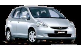 Каркасные шторки на Honda Jazz  Хетчбэк 5 дв. 2001 - 2008