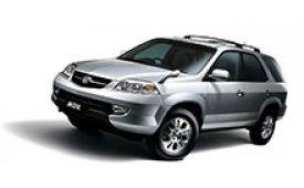 Каркасные шторки на Honda MDX Внедорожник-Кроссовер 2001 - 2003