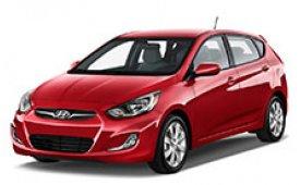 Каркасные шторки на Hyundai Accent Хетчбэк 5 дв. Wit 2011 - н.в.