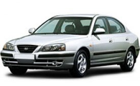 Каркасные шторки на Hyundai Elantra Седан 2000 - 2006