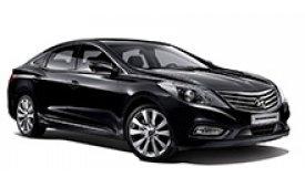 Каркасные шторки на Hyundai Grandeur Седан 2011 - н.в.