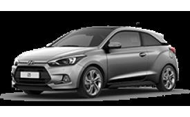 Каркасные шторки на Hyundai i20 Хетчбэк 3 дв. 2014 - н.в.
