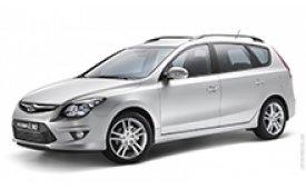 Каркасные шторки на Hyundai i30 Универсал CW 2007 - 2012