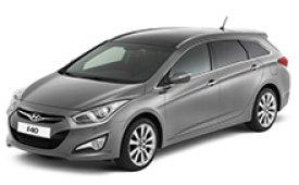Каркасные шторки на Hyundai i40 Универсал 2011 - н.в.