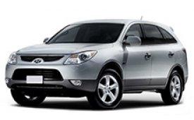 Каркасные шторки на Hyundai ix55 Внедорожник-Кроссовер 2008 - 2012