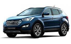 Каркасные шторки на Hyundai Santa Fe Внедорожник-Кроссовер 2012 - н.в.