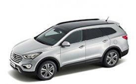 Каркасные шторки на Hyundai Santa Fe Внедорожник-Кроссовер удлиненная база 2012 - н.в.
