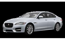 Каркасные шторки на Jaguar XF Седан 2015 - н.в.