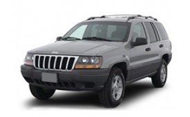 Каркасные шторки на Jeep Grand Cherokee Внедорожник-Кроссовер 1998 - 2005