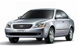 Каркасные шторки на Kia Lotze Седан MG 2005 - 2007