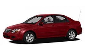 Каркасные шторки на Kia Spectra (Sephia) Седан LD 2004 - 2009