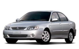 Каркасные шторки на Kia Spectra (Sephia) Седан SD 2004 - 2011