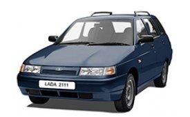 Каркасные шторки на Lada 2111 Универсал 2009 - 2012