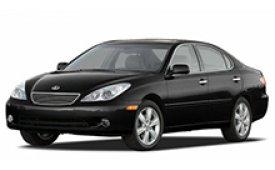 Каркасные шторки на Lexus ES Седан 2001 - 2006