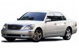 Каркасные шторки на Lexus LS Седан 2001 - 2006