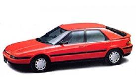 Каркасные шторки на Mazda 323F Седан 1989 - 1996