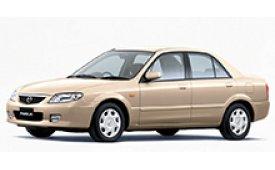 Каркасные шторки на Mazda 323(Protege) Седан 1998 - 2003