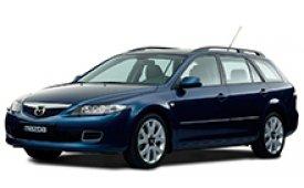 Каркасные шторки на Mazda 6 Универсал GY 2002 - 2007