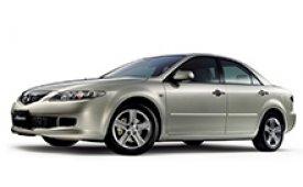 Каркасные шторки на Mazda Atenza Седан 23Е 2002 - 2007