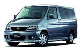 Каркасные шторки на Mazda Bongo Friendee Минивэн 1995 - н.в.