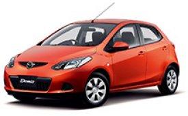 Каркасные шторки на Mazda Demio Хетчбэк 5 дв. 2007 - 2014