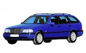 Каркасные шторки на Mercedes-Benz C-klasse Универсал S202 1993 - 2001